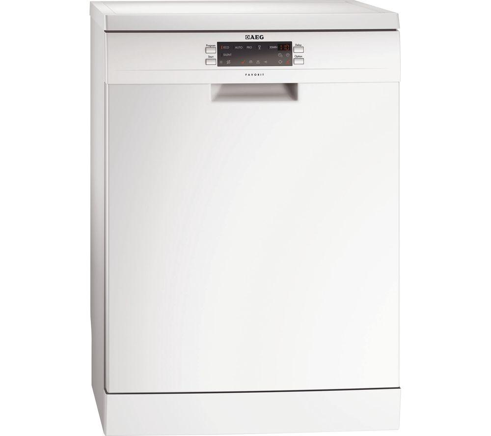 AEG  ProClean F66742W0P Fullsize Dishwasher  White White
