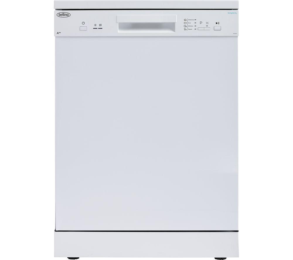 BELLING FDW120 Full-size Dishwasher - White