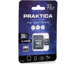 PRAKTICA Class 10 microSD Memory Card - 32 GB