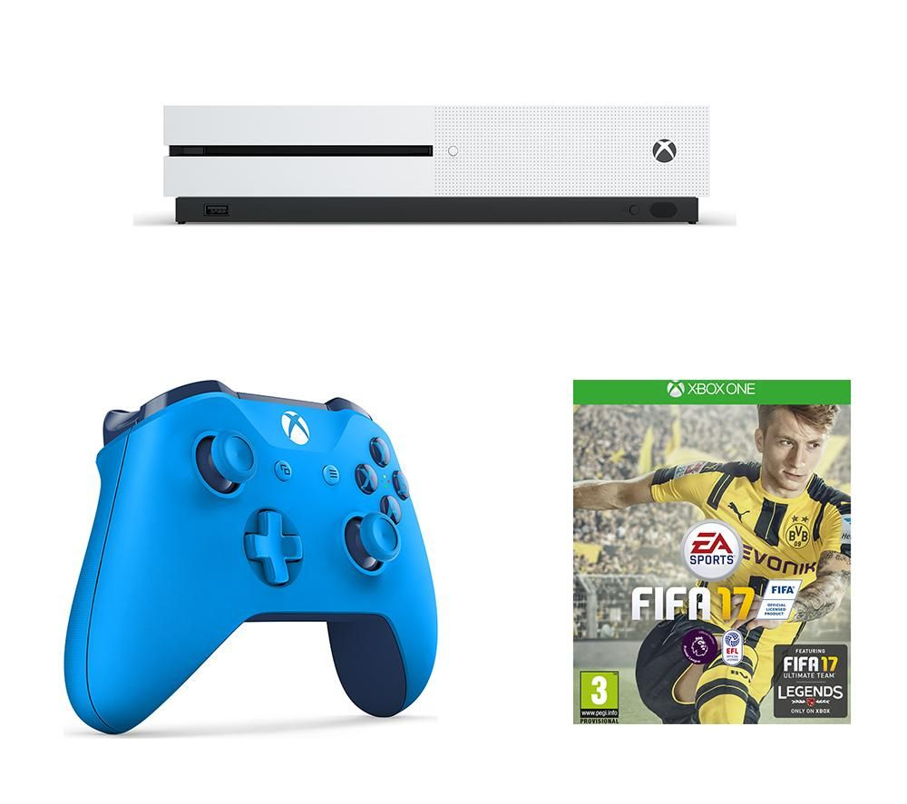 buy microsoft xbox one s 500 gb fifa 17 wireless. Black Bedroom Furniture Sets. Home Design Ideas