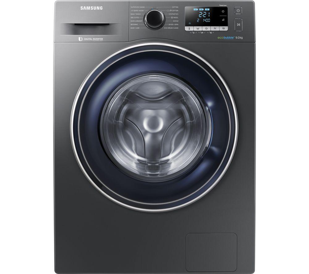 buy samsung ecobubble ww90j5456fx 9 kg 1400 spin washing. Black Bedroom Furniture Sets. Home Design Ideas