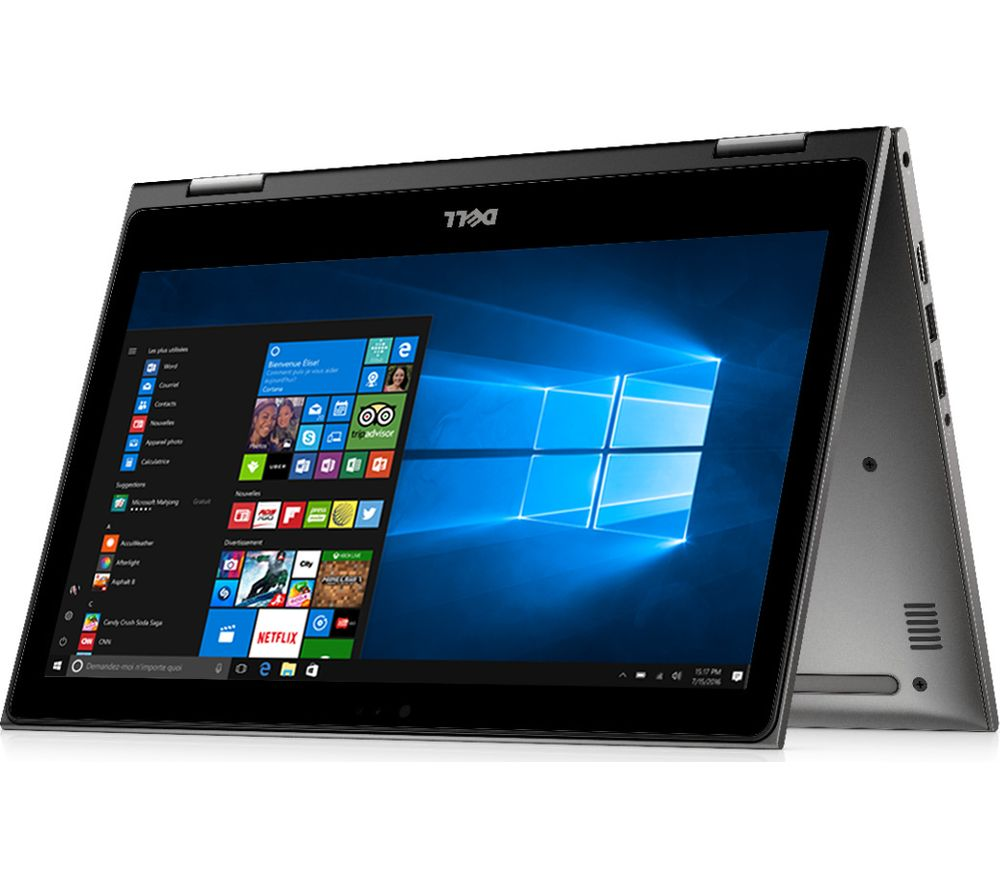 """DELL Inspiron 13 5000 13.3"""" 2 in 1 - Silver + Office 365 Home + LiveSafe Unlimited 2017 - 1 year"""