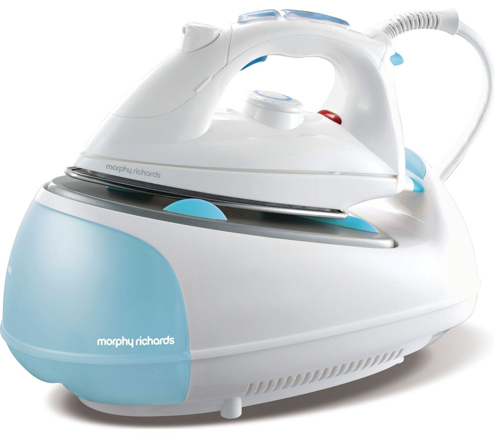 Morphy Richards Store: Buy MORPHY RICHARDS Jet Steam 333021 Steam Generator Iron - White & Blue