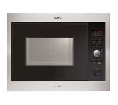 AEG MC1753E-M Built-in Solo Microwave - Stainless Steel
