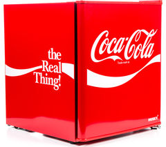 HUSKY Coca Cola HUS-EL207 Mini Fridge - Red