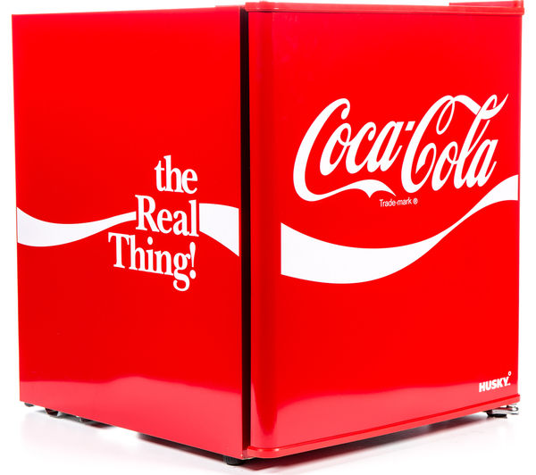 Buy Husky Coca Cola Hus El207 Mini Fridge Red Free