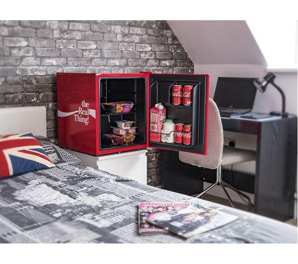 Coca Cola Fridge >> Buy HUSKY Coca Cola HUS-EL207 Mini Fridge - Red | Free ...