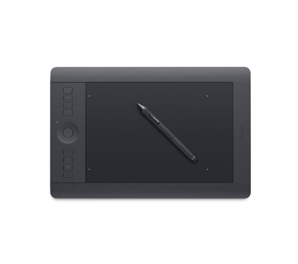 Image of Wacom Intuos Pro Medium PTH-651-ENES Graphics Tablet