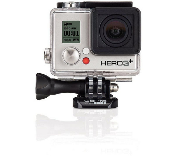 buy gopro hero 3 action camcorder silver edition free. Black Bedroom Furniture Sets. Home Design Ideas
