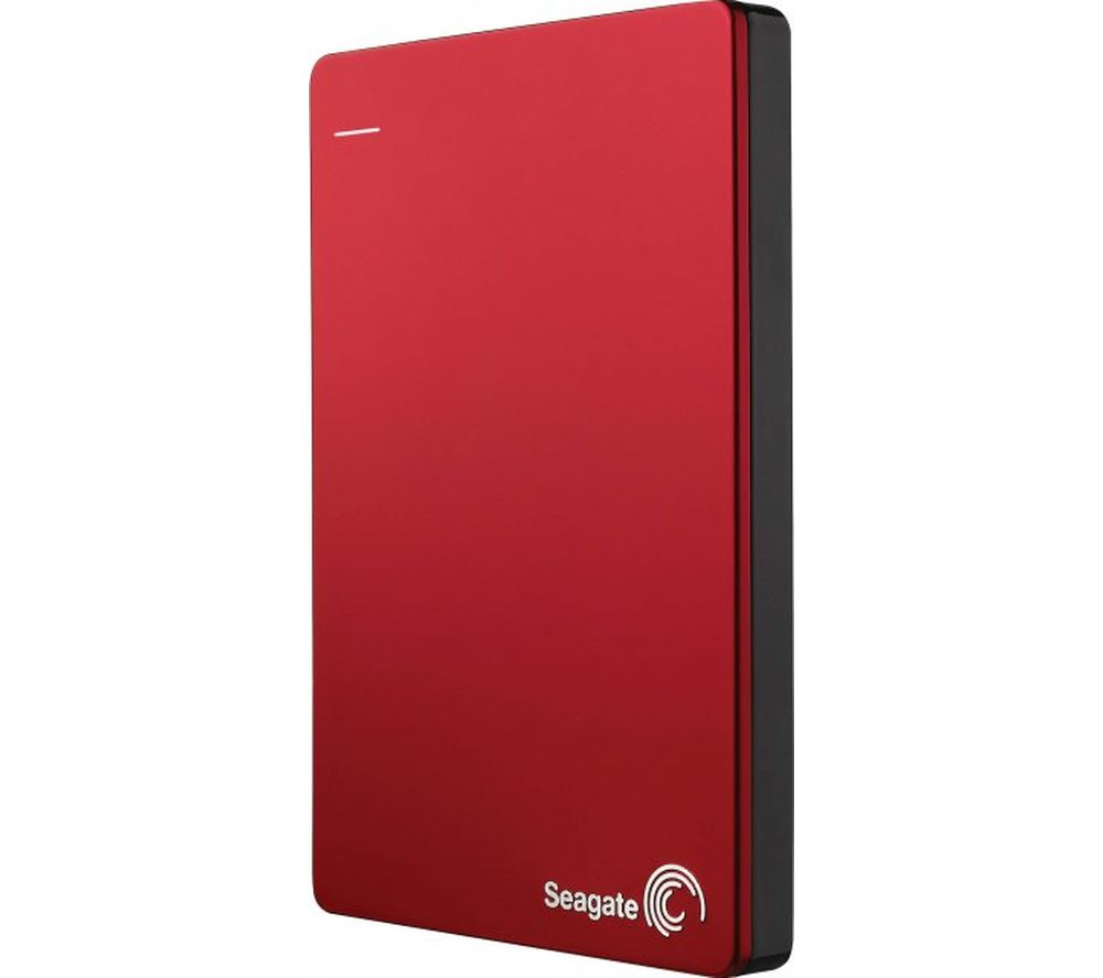 SEAGATE Backup Plus Portable Hard Drive - 2 TB, Red