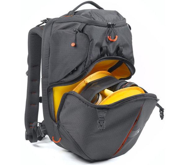 Image of KATA Revolver 8 PL DSLR Camera Case - Black & Yellow