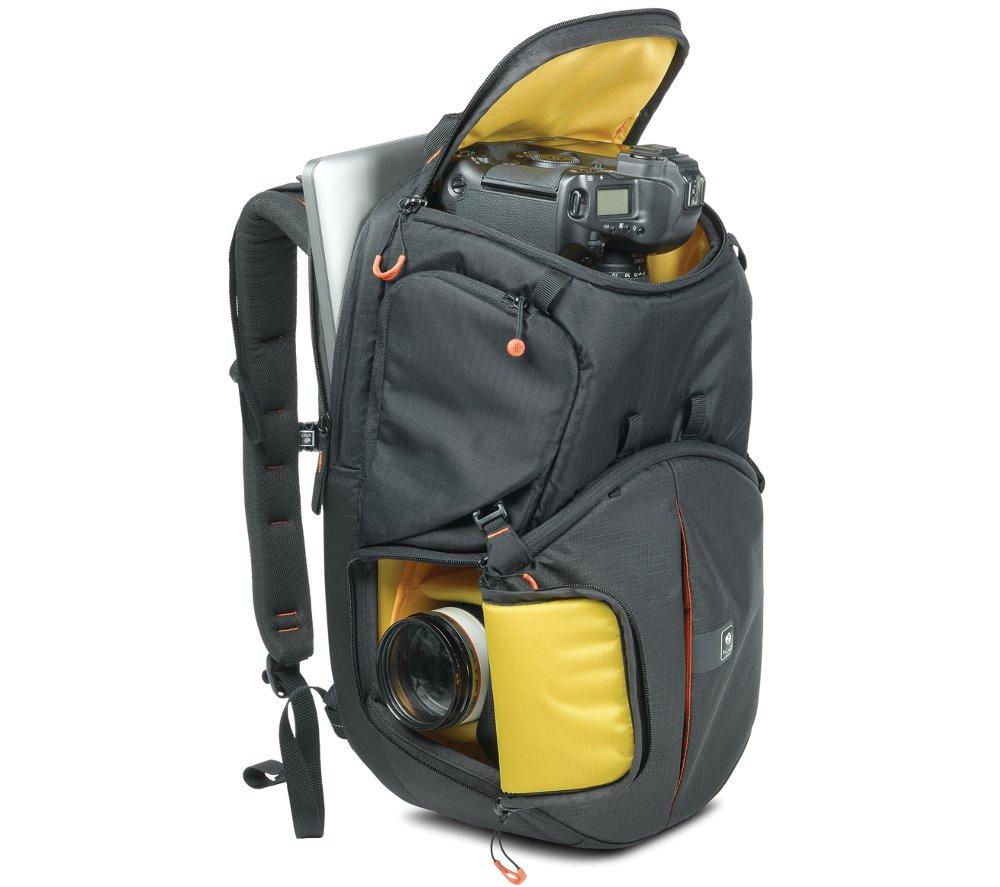 KATA Revolver 8 PL DSLR Camera Case - Black & Yellow