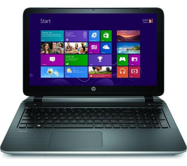 "Hp Pavilion 15p091sa Refurbished 15.6"" Touchscreen Laptop  Silver Silver"