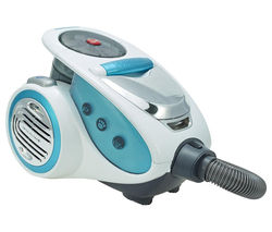 HOOVER A2 XP71ID20001 Cylinder Bagless Vacuum Cleaner - White, Silver & Blue