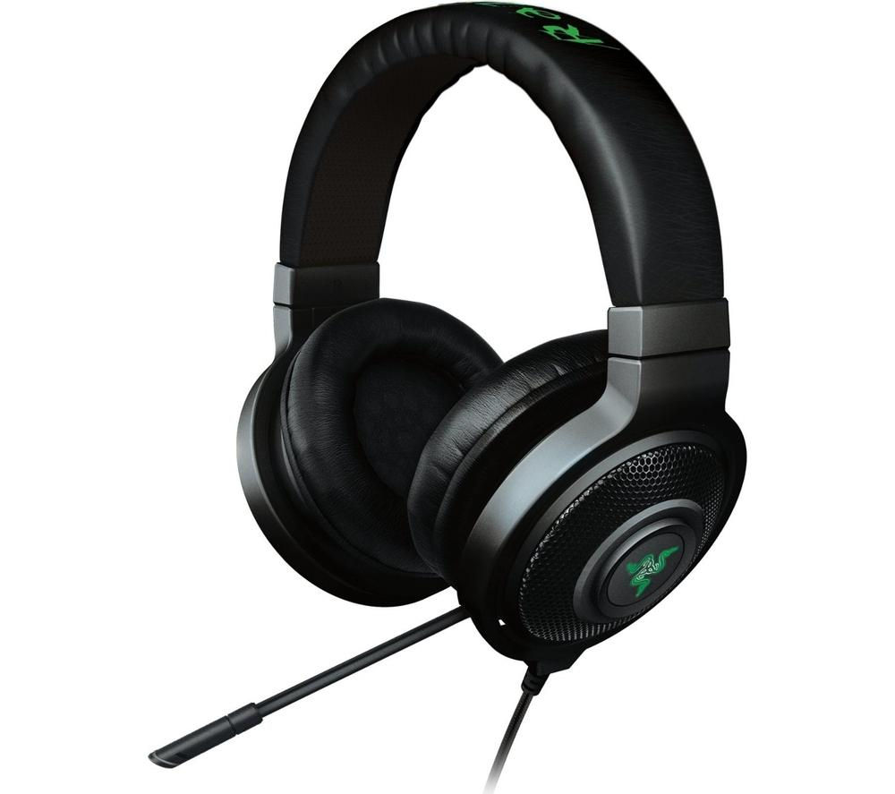 buy razer kraken chroma 7 1 gaming headset free delivery. Black Bedroom Furniture Sets. Home Design Ideas