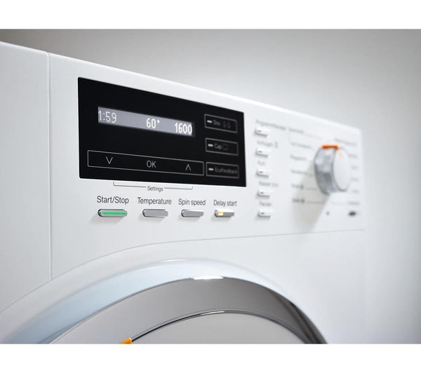 buy miele wmh120 wps washing machine white free delivery currys. Black Bedroom Furniture Sets. Home Design Ideas