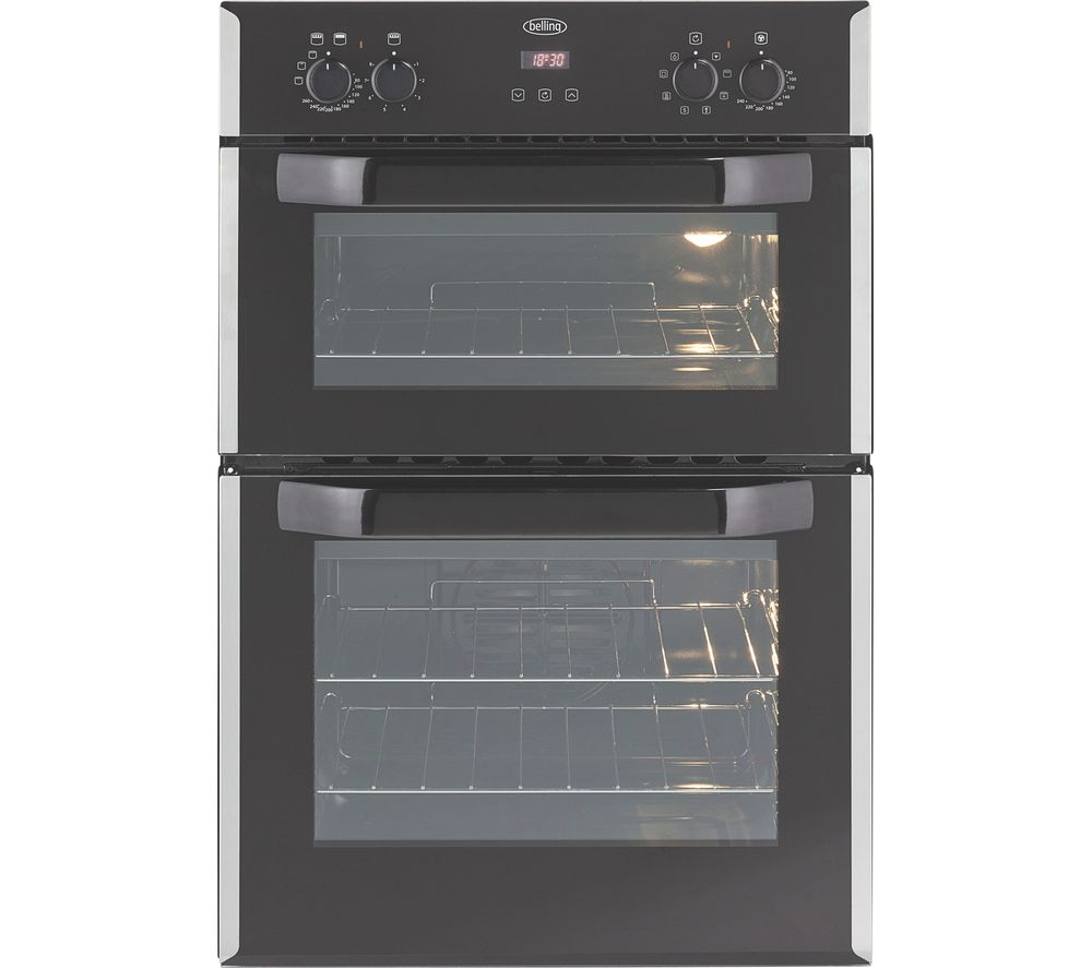 Double Ovens Electric ~ Belling bi efr electric double oven stainless steel