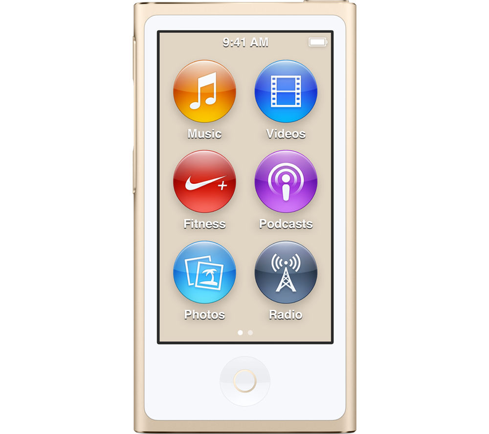 Image of APPLE iPod nano - 16 GB, 7th Generation, Gold, Gold