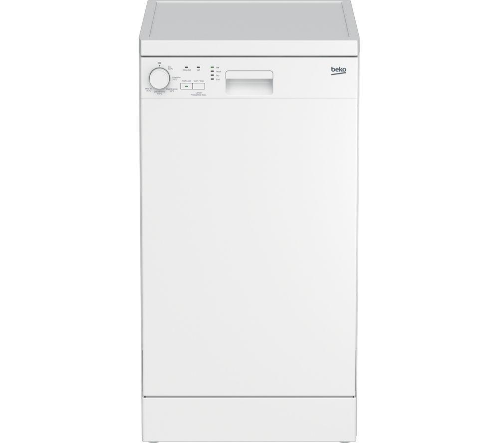BEKO DFS05010W Slimline Dishwasher – White