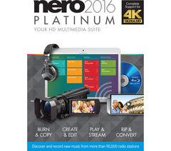 NERO Platinum 2016