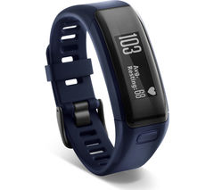 GARMIN Vivosmart HR - Blue, Medium