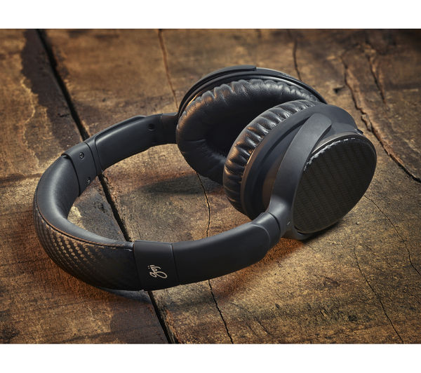 Image of GOJI COLLECTION ANC BT Wireless Bluetooth Noise-Cancelling Headphones - Black