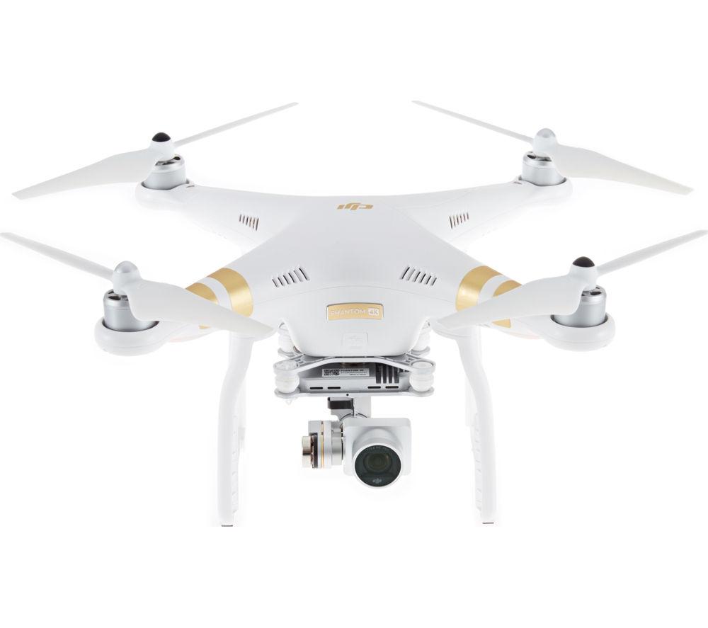 DJI Phantom 3 4k Drone - White