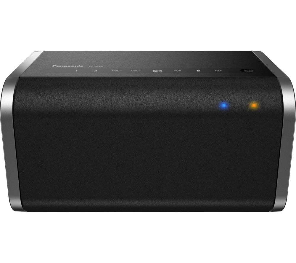 Click to view more of PANASONIC  SC-ALL6EB-K Wireless Smart Sound Multi-Room Speaker - Black, Black