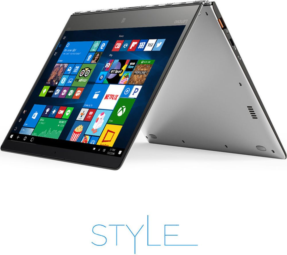 lenovo yoga 900s 12 5 2 in 1 silver deals pc world. Black Bedroom Furniture Sets. Home Design Ideas