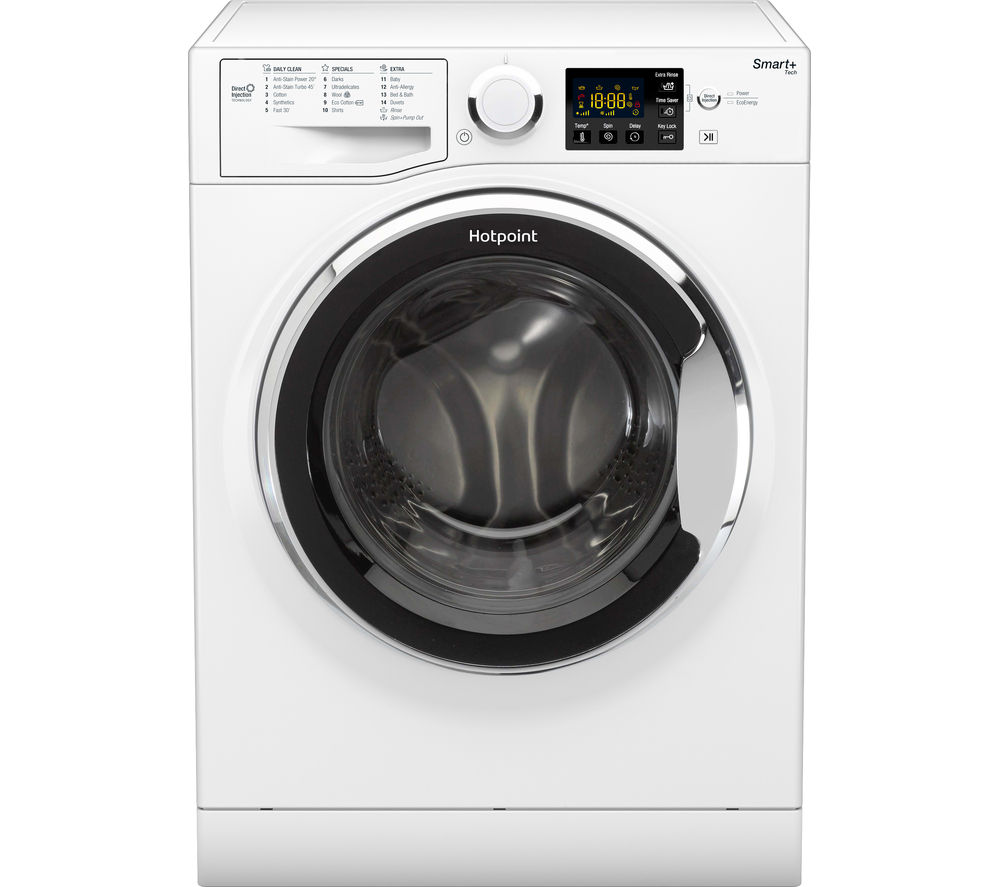 HOTPOINT  Smart RSG 964 JX Washing Machine ? White White