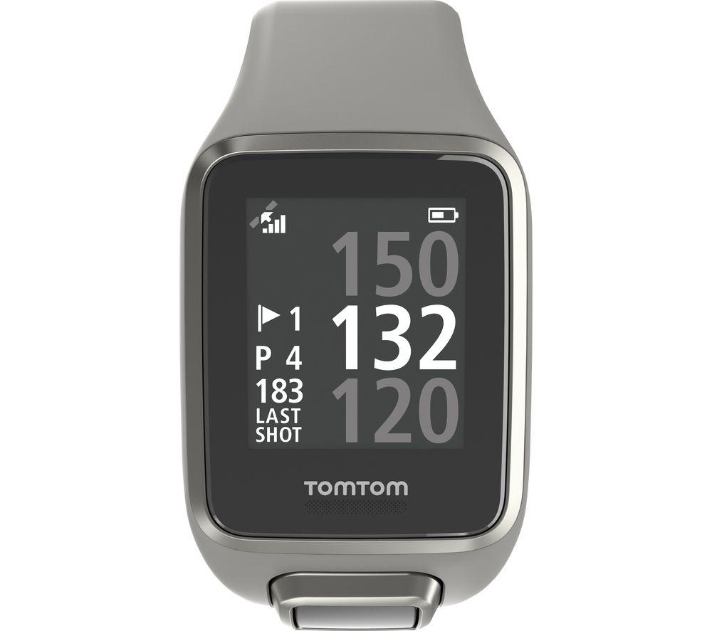 TOMTOM Golfer 2 GPS Watch - Grey, Large