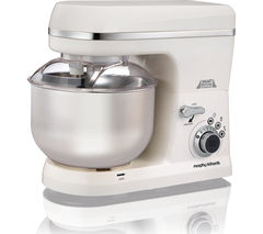 MORPHY RICHARDS 400015 Total Control Stand Mixer - White