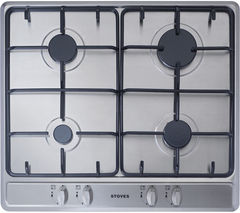 STOVES SGH600E Gas Hob - Stainless Steel