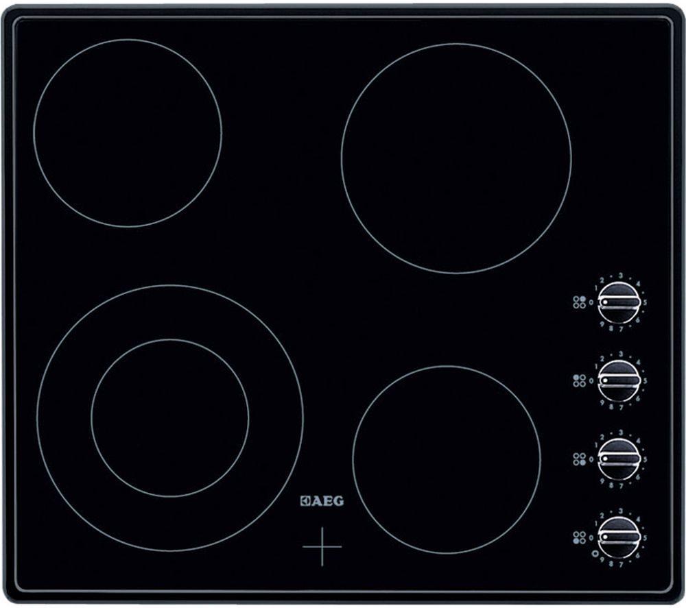 AEG  HK614010BB Electric Ceramic Hob  Black Black
