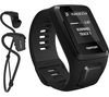 TOMTOM Spark 3 Cardio GPS Fitness Watch + Music with Headphones - Black, Large