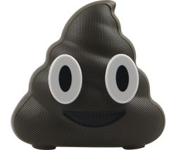 JAMOJI Chocolate Swirl Portable Bluetooth Wireless Speaker - Brown