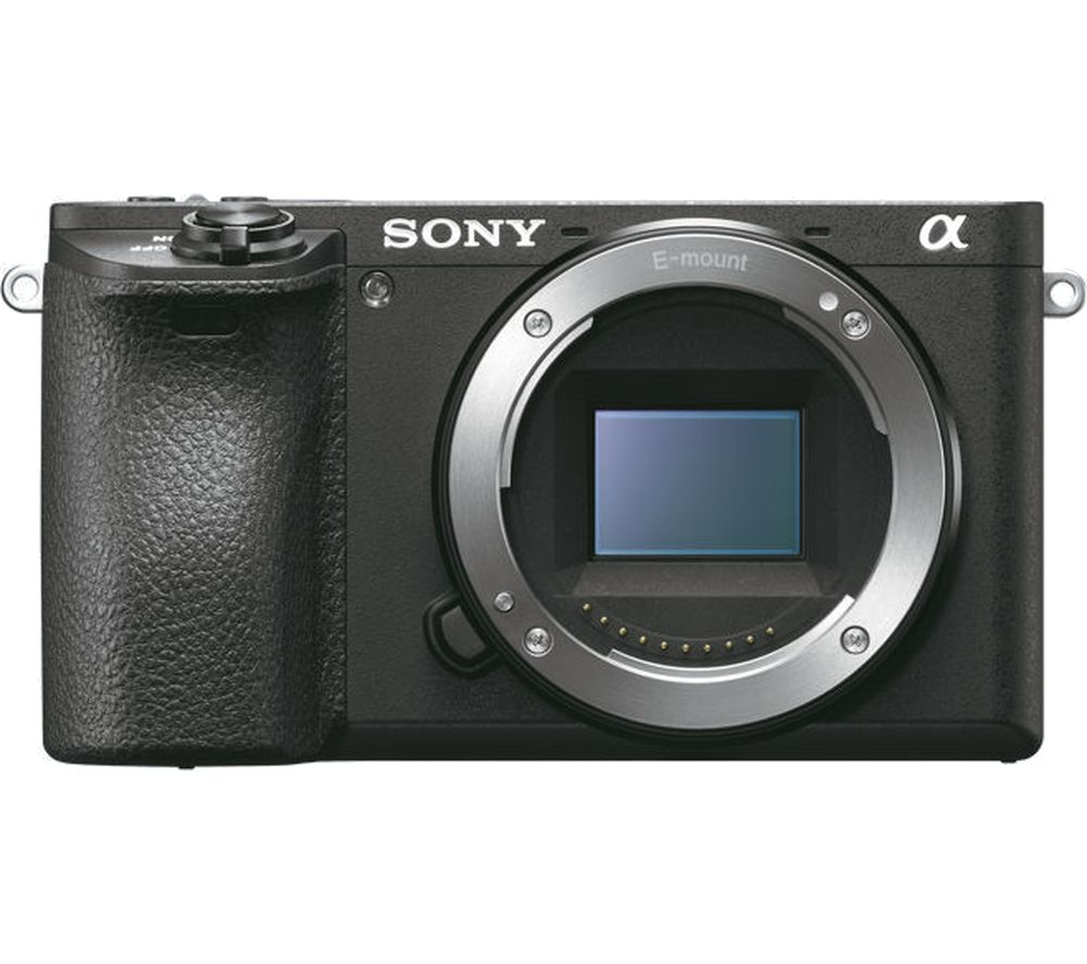 SONY a6500 Compact System Camera - Black, Body Only