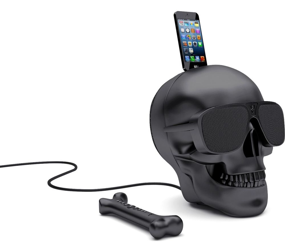 JARRE AeroSkull HD + Wireless Speaker - Matte Black