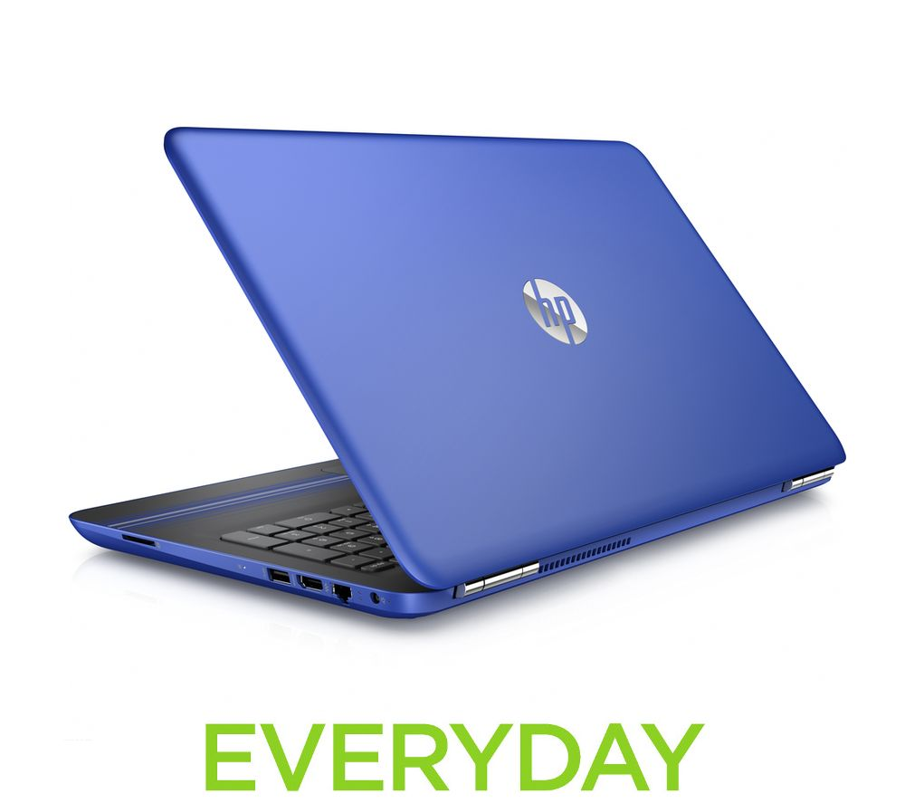 HP  Pavilion 15au172sa 15.6 Laptop  Blue Blue
