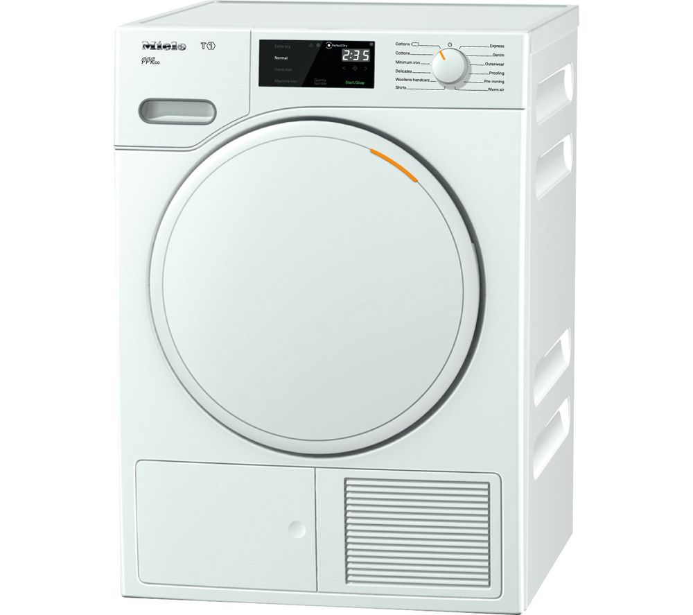 MIELE Eco TWE620WP Heat Pump Tumble Dryer  White White