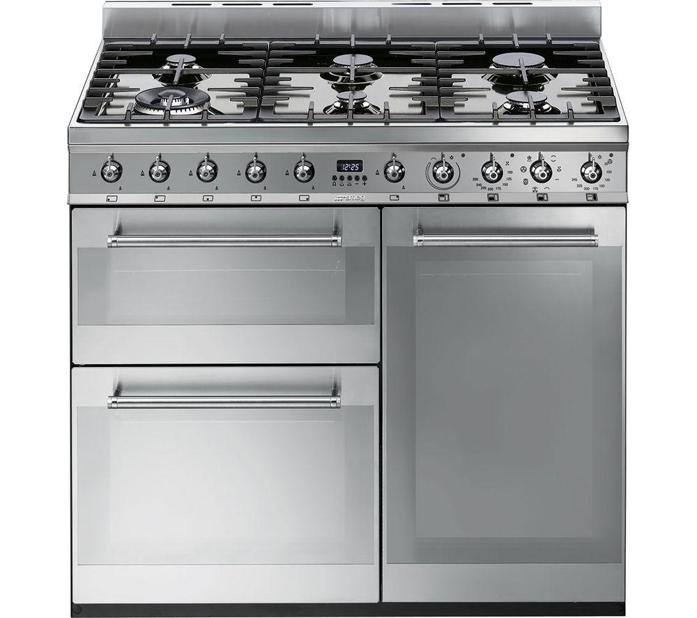 Range Couverts 120 Cm: Buy SMEG Symphony 90 Cm Dual Fuel Range Cooker
