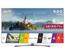 "LG 55UJ750V 55"" Smart 4K Ultra HD HDR LED TV"