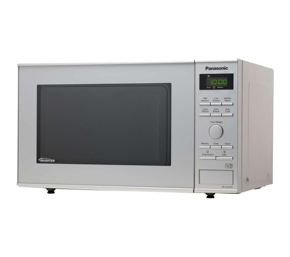 Image of Panasonic NN-SD261MBPQ Solo Microwave - Silver, Silver