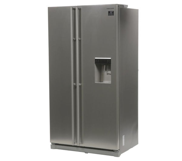 What Is An American Fridge Freezer Part - 23: SAMSUNG RSA1RTPN American-Style Fridge Freezer - Platinum Inox