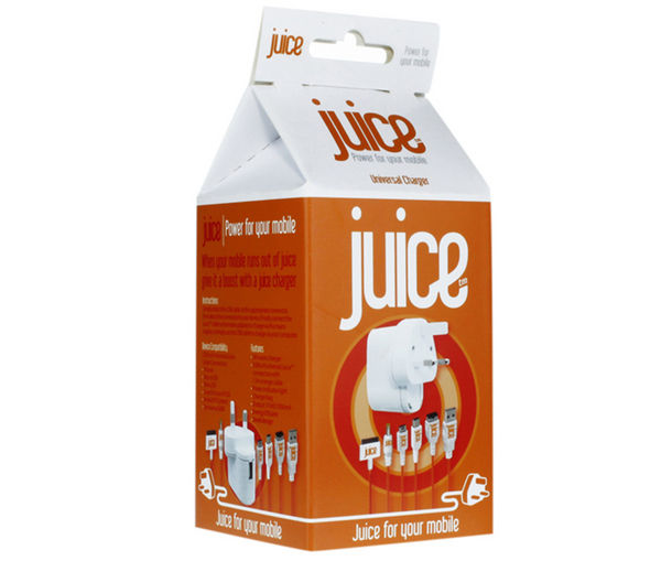 JUICE Multi Universal Mains Charger - 1.5 m