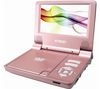 CURTIS DVD7014UK Portable DVD Player - Pink