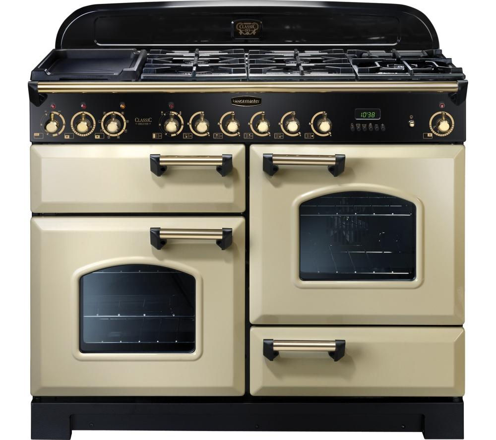 buy rangemaster classic deluxe 110 dual fuel range cooker. Black Bedroom Furniture Sets. Home Design Ideas