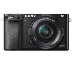 SONY a6000 Compact System Camera with 16-50 mm f/3.5-5.6 OSS Zoom Lens