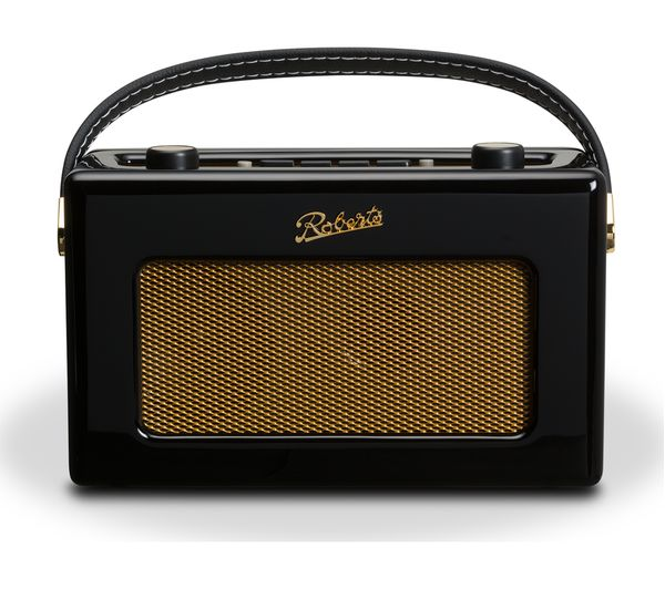 Click to view more of ROBERTS  RD60 Revival DAB Digital Radio - Gloss Black, Black
