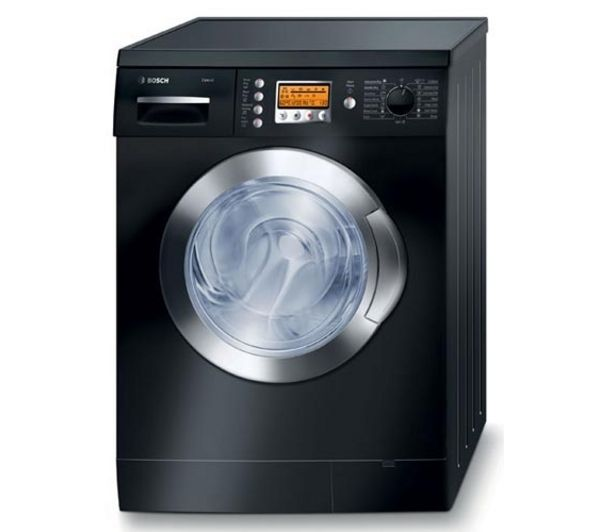Bosch EXXcel WVD2452BGB 1200 Spin 5+2.5Kg Washer Dryer in Black with Chrome Door